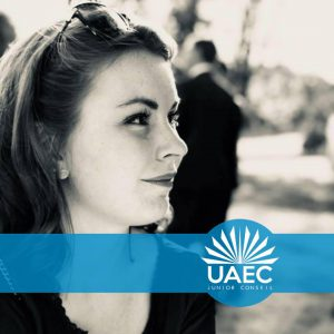 vice-president uaec junior conseil justine bontems 2019 polytech angers